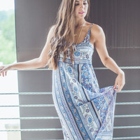 Paisley Maxi in Purple