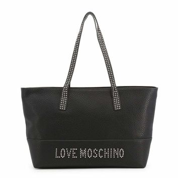 Love Moschino Jc4063Pp16Ls Women Black Shopping bags