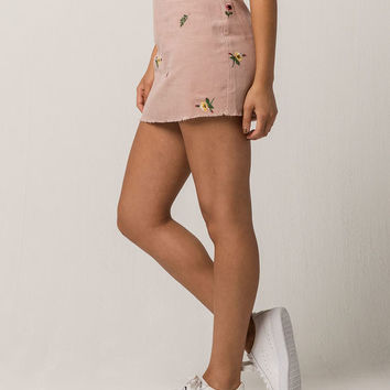 IVY & MAIN Embrodiered Corduroy Mini Skirt