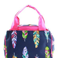 Lunch Tote Feather - 2 Color Choices