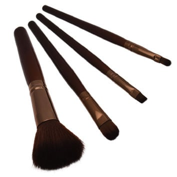 Women Professional 4 pcs Makeup Brush Set