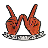 Whatever Forever Patch - Brown