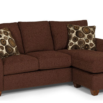The Stanton 320 Chaise Sectional Sleeper Sofa (Queen)