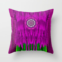 Fantasy Moon Shine Throw Pillow by Pepita Selles