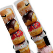 Doughnuts Stacked Donuts Custom Nike Elite Socks