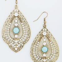 ModCloth Boho Glitz is It Earrings