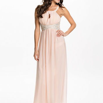 Key Hole Front Maxi Dress, Ax Paris