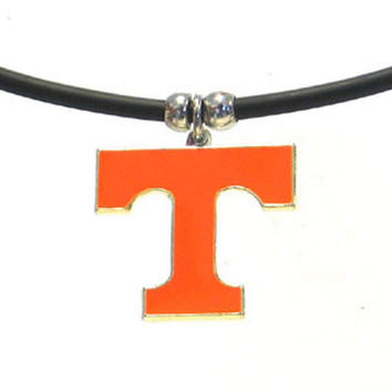 Tennessee Volunteers Rubber Cord Necklace CPR25