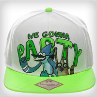 The Regular Show Party Snapback Hat