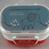 Shinzi Katoh Bento Box Elephant Flowers