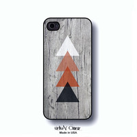 geometric iphone case - geometric phone  case, gift for men, gift for women, iPhone 5 case, iphone4 case, wood phone case  cover (0036)