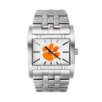 Rockwell Clemson Tigers Apostle Stainless Steel Watch - Men (Grey)