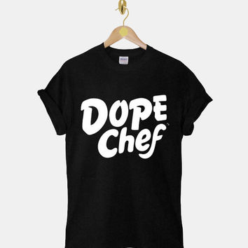 Dope Chef DTG ScreenPrint 100% pre-shrunk cotton for t shirt mens and t shirt woman at kahitna