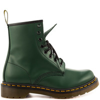 Dr Martens - 1460 W - Green Smooth