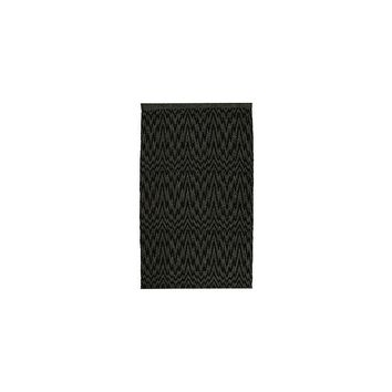 Homespice Decor Aurora Black/Grey Indoor/Outdoor Area Rug
