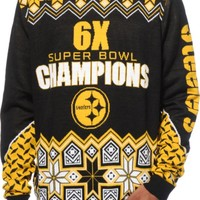 NFL Forever Collectibles Steelers Super Bowl Sweater
