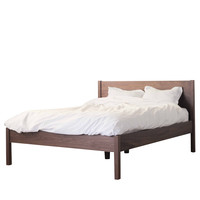Walnut Queen Bed Frame & Headboard