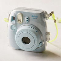 Fujifilm Instax Mini 8 Metallic Silver Hard-Shell Camera Case - Urban Outfitters