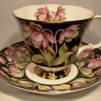 Vintage Royal Albert Pitcher Plant Provincial Flowers Cup and Saucer