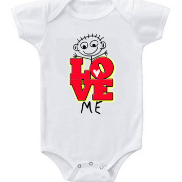 NEW Cute Funny Love Me Baby Bodysuits One Piece Great Gifts