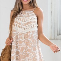 Summer Daze Dress in Brown
