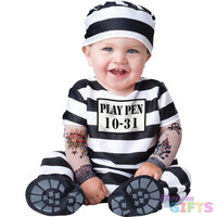 Baby Boy's Costume: Time Out-6-12 Months