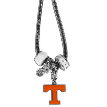 Tennessee Volunteers Euro Bead Necklace CBNK25