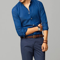 SLIM-FIT TAILORED SHIRT - Essentials - MEN - United States of America / Estados Unidos de América
