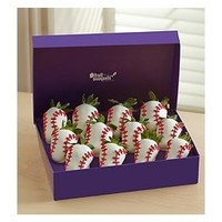 Most Valuable Berries| Chocolate Covered Baseball Strawberries| Ingallina's Box Lunch Portland