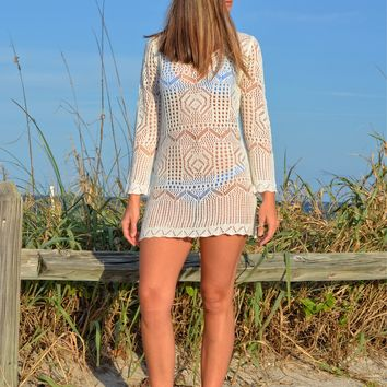 ONSIZE Crochet Swimwear Cover Up or dress
