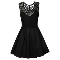 Buy True Decadence Pleated Prom Dress, Black online at John Lewis