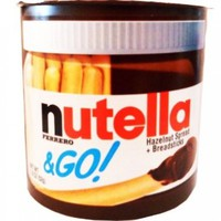 Nutella & Go Hazelnut Spread Breadsticks Net Wt 1.8 Oz (52g) (Pack of 6)