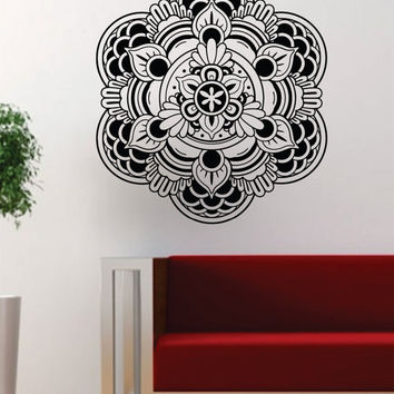 Mandala Version 5 Namaste Om Yoga Beautiful Design Decal Sticker Wall Vinyl Decor Art