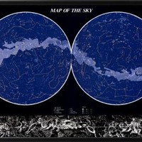 Map of the Sky Prints at AllPosters.com