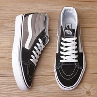 Vans New Pattern Canvas Old Skool Flats Sneakers Sport Shoes