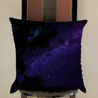Night Star Pillow, Pillow Case, Pillow Cover, 16 x 16 Inch One Side, 16 x 16 Inch Two Side, 18 x 18 Inch One Side, 18 x 18 Inch Two Side, 20 x 20 Inch One Side, 20 x 20 Inch Two Side