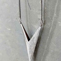 Luv Aj Saber Pendant Necklace- Silver One
