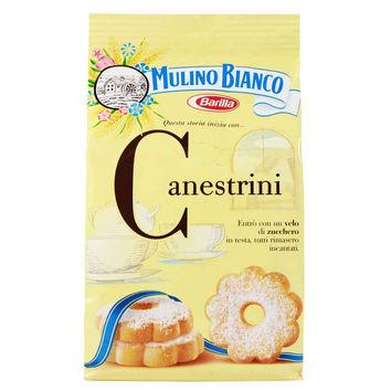 Canestrini Shortbread Biscuits by Mulino Bianco 7 oz