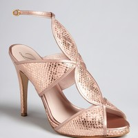 Delman Peep Toe Platform Evening Sandals - Suave High Heel | Bloomingdale's