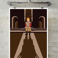 Game of Thrones, GOT, Tyrion Lannister,  George R. R. Martin, Minimalist Movie Poster Art.
