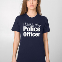 Police Wife Gift - Officer Wife - Love My Police Officer - Cop Wife - Police Bride - Law Enforcement - Police Mom - Deputy Wife