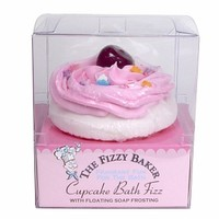 Smith & Vandiver The Fizzy Baker Cupcake Bath Fizz, Cherry Cheesecake