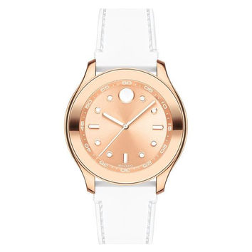 Movado Midsize BOLD Women's Rose Gold Sport Watch 3600411