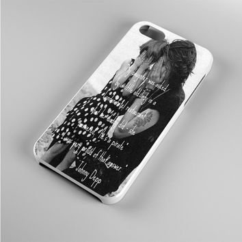 Johnny Depp qoute Iphone 5s Case