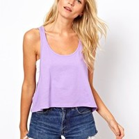 ASOS Cropped Swing Vest at asos.com