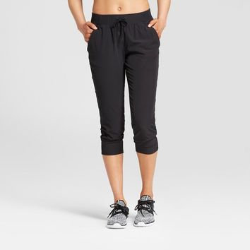 Women's Woven Capri Leggings - C9 Champion®