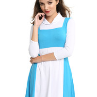 Disney Beauty And The Beast Belle Peasant Dress