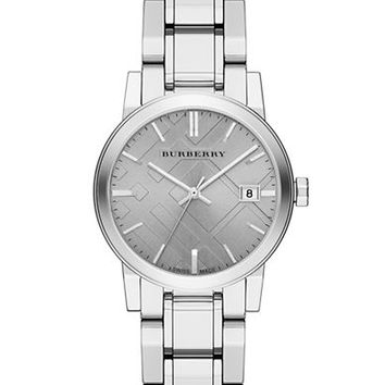 Burberry Ladies Stainless Steel Bracelet Watch