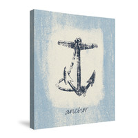 Beach Comber IV (Surf) Canvas Wall Art