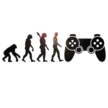 Vinyl Wall Decal Joystick Game Zone Art Decor Gaming Gamer Room Stickers Mural (ig6264)